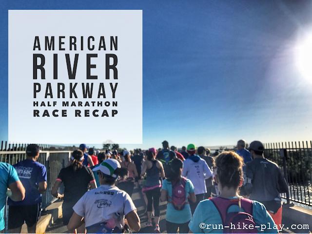 American River Parkway Half Marathon Race Recap 4/29/17