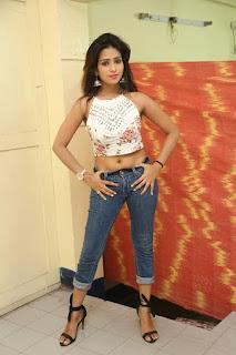 Deekshita Parvathi in a short crop top and Denim Jeans Spicy Pics Beautiful Actress Deekshita Parvathi January 2017 CelebxNext (68).JPG