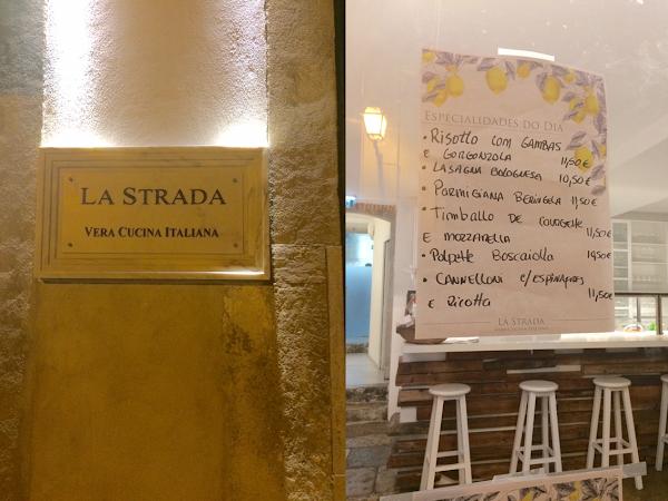La Strada | um caminho para a cozinha de Itália