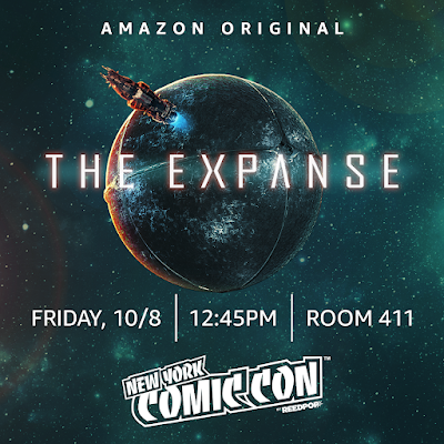 NYCC 2021 Amazon Prime The Expanse Panel