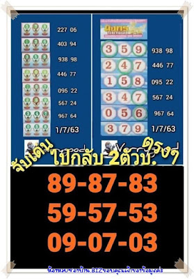 Thailand Lottery VIP Double 100% Sure Facebook Timeline 01 July 2020