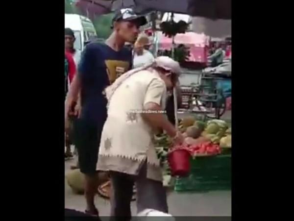 Preman klambir 5 pukuli kakek kakek