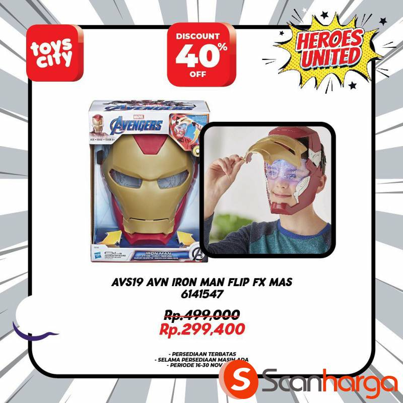 Promo Toys City Fantastic HEROES Collection Special Discount up to 50% 3