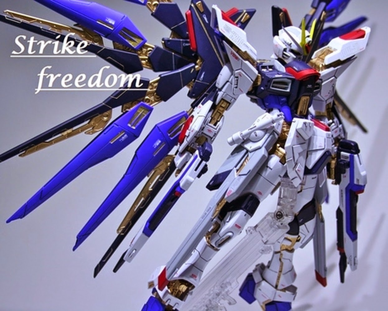 Custom Build: MG 1/100 Strike Freedom Gundam - Gundam Kits ...