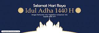 Banner Idul Adha 1440 H 2019