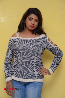 Actress Sridevi Stills in Jeans at No 1 Hero Rajendra Press Meet  0054.JPG