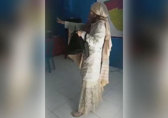 Heboh! Video Wanita Asal Makassar Ini Mengaku Nabi