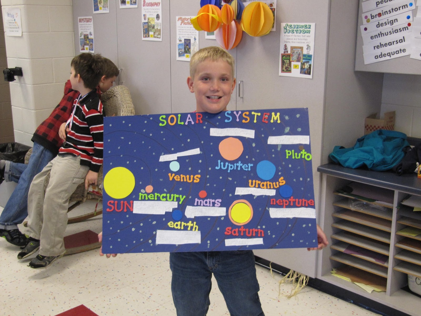 Mrs Reese S Third Grade Solar System Projects