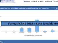 Formasi CPNS 2019 Kota Sawahlunto