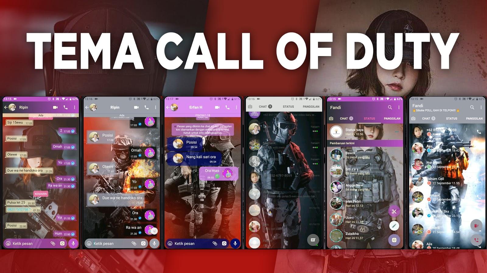 Download Kumpulan Tema Whatsapp Game COD Call Of Duty ...