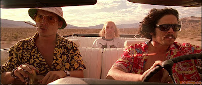 Fear And Loathing In Las Vegas - Johnny Depp, Benicio del Toro, and Tobey Maguire