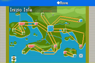Pokemon Sors para GBA Mapa Region Hupest