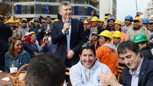 Macri, el viernes pasado, con Bullrich, antes del cierre de listas