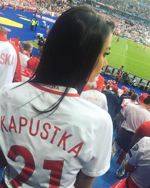 Sexy WAG: Klaudia Adamczyk