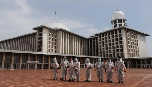 Covid-19 Masih Mewabah, Masjid Istiqlal Tak Gelar Salat Idul Adha