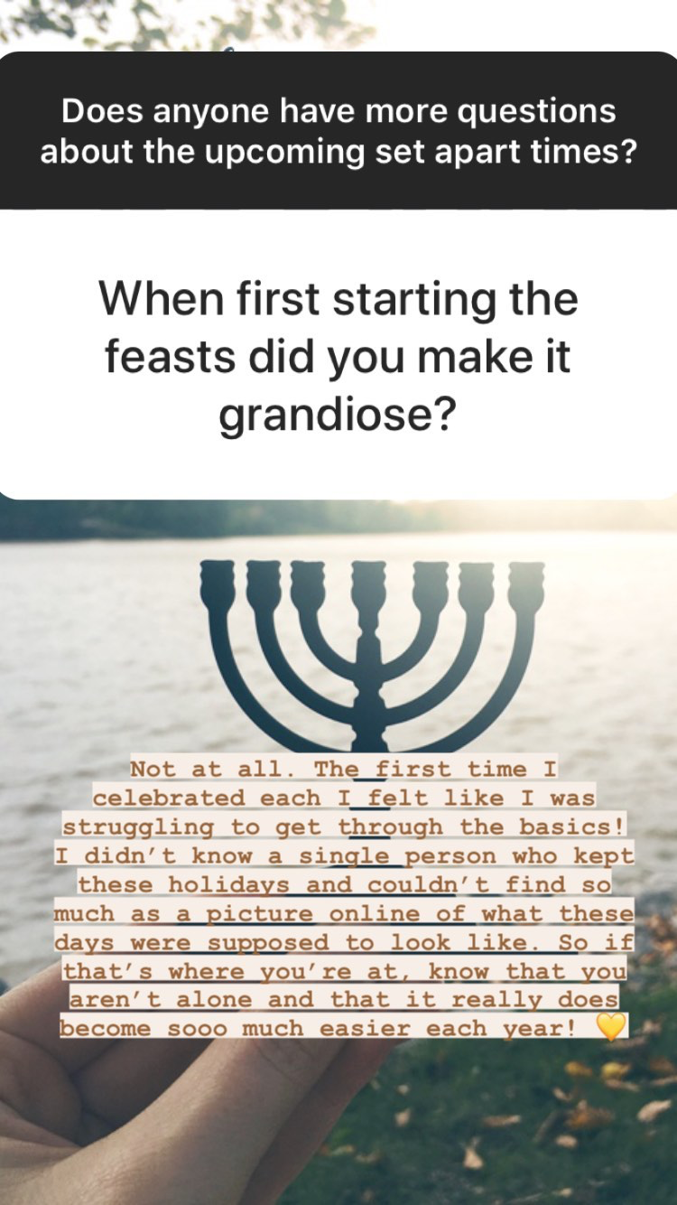Questions and answers about the Biblical fall holidays | Land of Honey