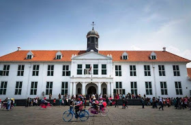 kota tua jakarta, tempat wisata di Jakarta