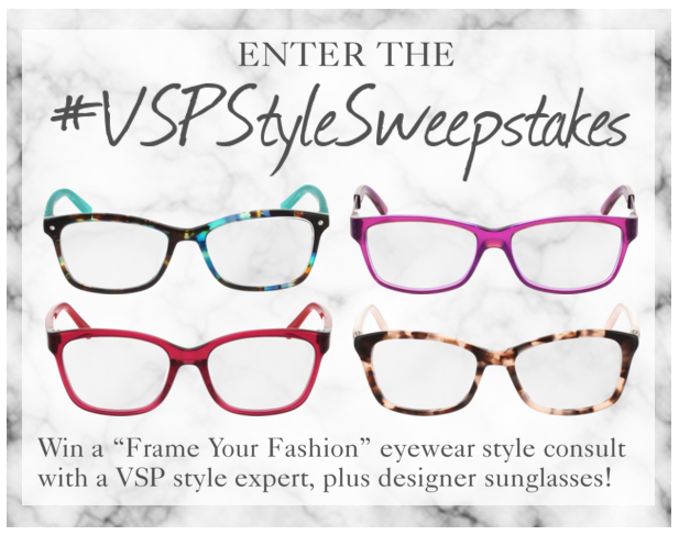 these four gorgeous pairs of glasses are all actual vsp frames