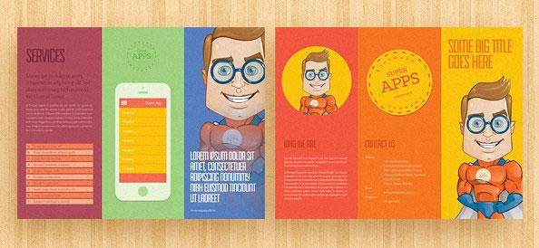 Contoh hasil cetak desain vektor yang dibuat dengan menggunakan software Adobe Ilustrator