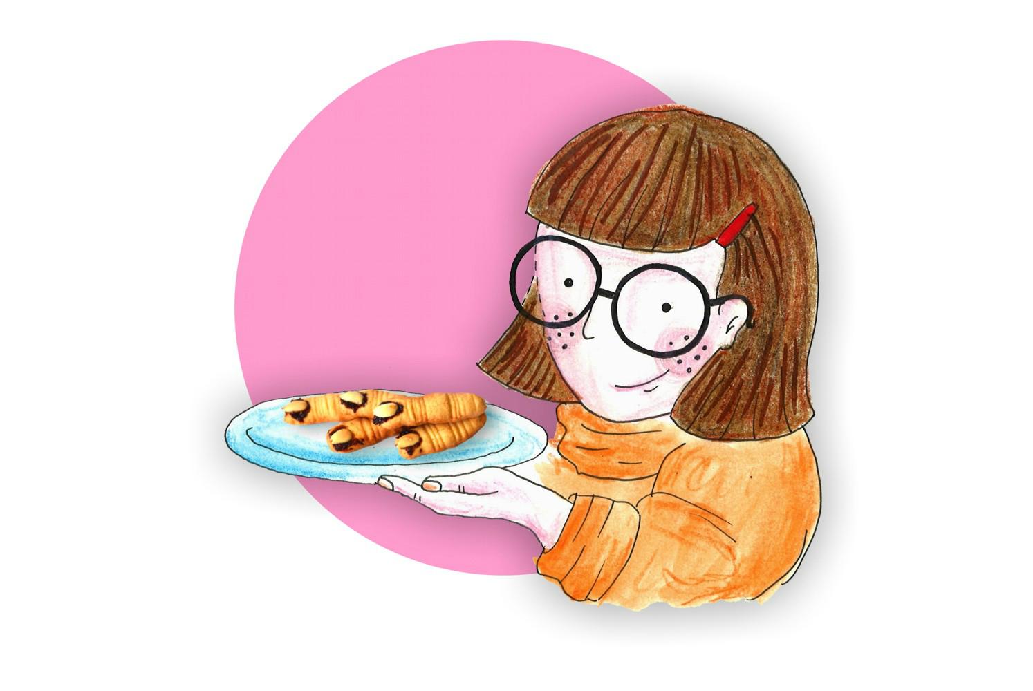 Velma Dinkley poleca: ciastka paluchy wiedźmy