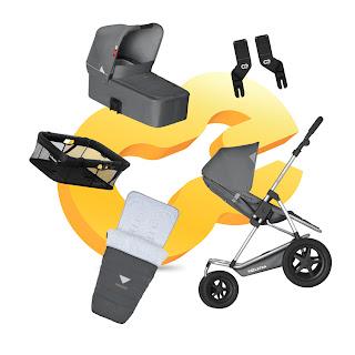 Complete kinderwagen Mambo Daily 5PACK