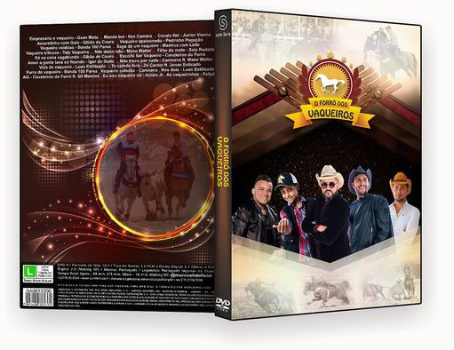 DVD-R O FORRO DOS VAQUEIROS – OFICIAL