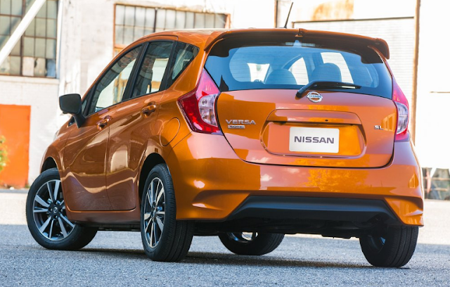 2018 Nissan Versa Note Back View