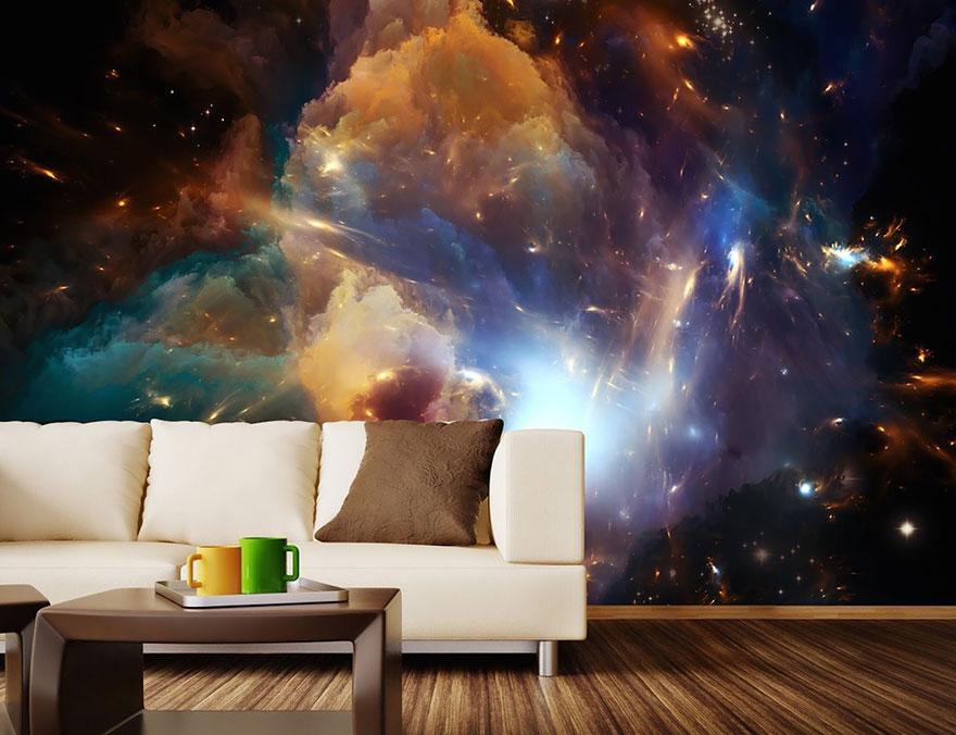 Cosmic Wall Mural