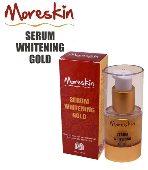 MORESKIN Serum Whitening Gold