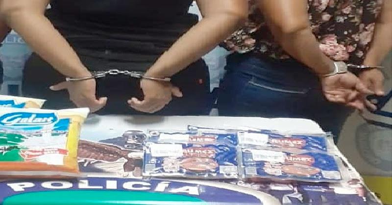 Detenidas peligrosas mujeres por robarse 5 paquetes de salchichas en Miranda