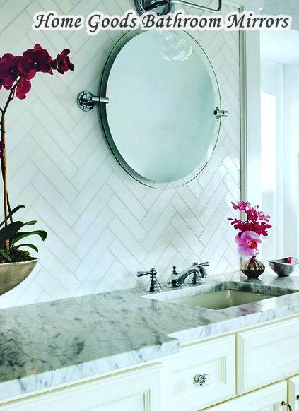 Home Goods Bathroom Mirrors Circle