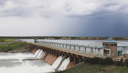Bassano Dam Alberta