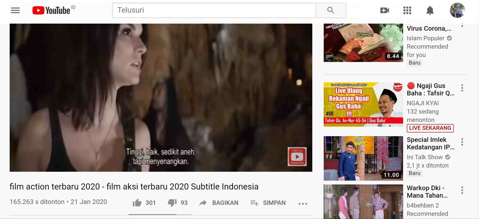 Cara Download Subtitle CC Video dari YouTube Format .srt / .txt