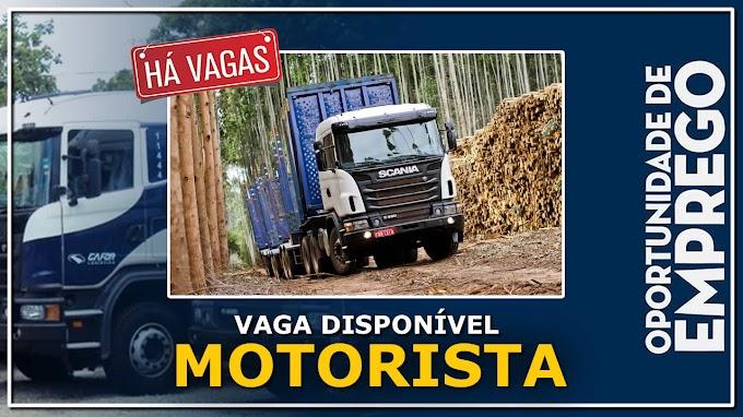 Transportadora Gafor abre vagas para Motorista