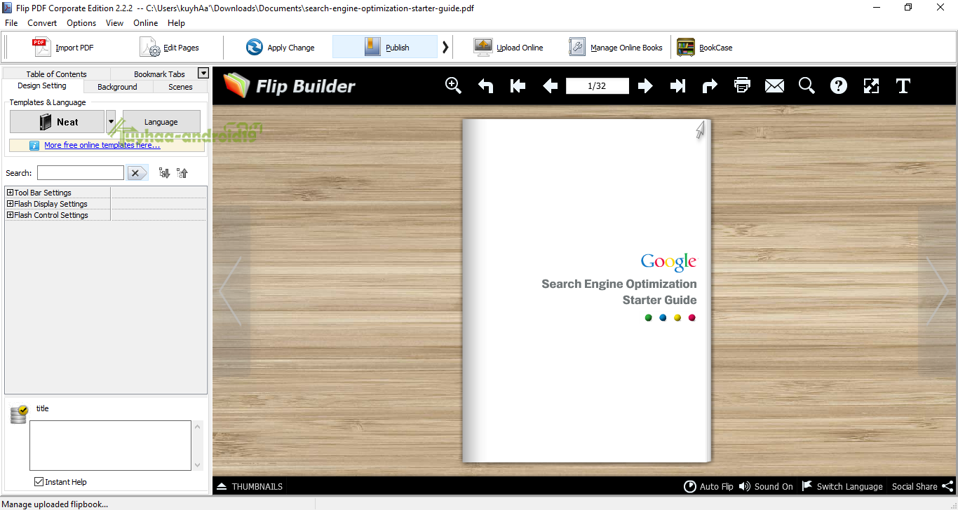 Flip PDF Corporate Edition