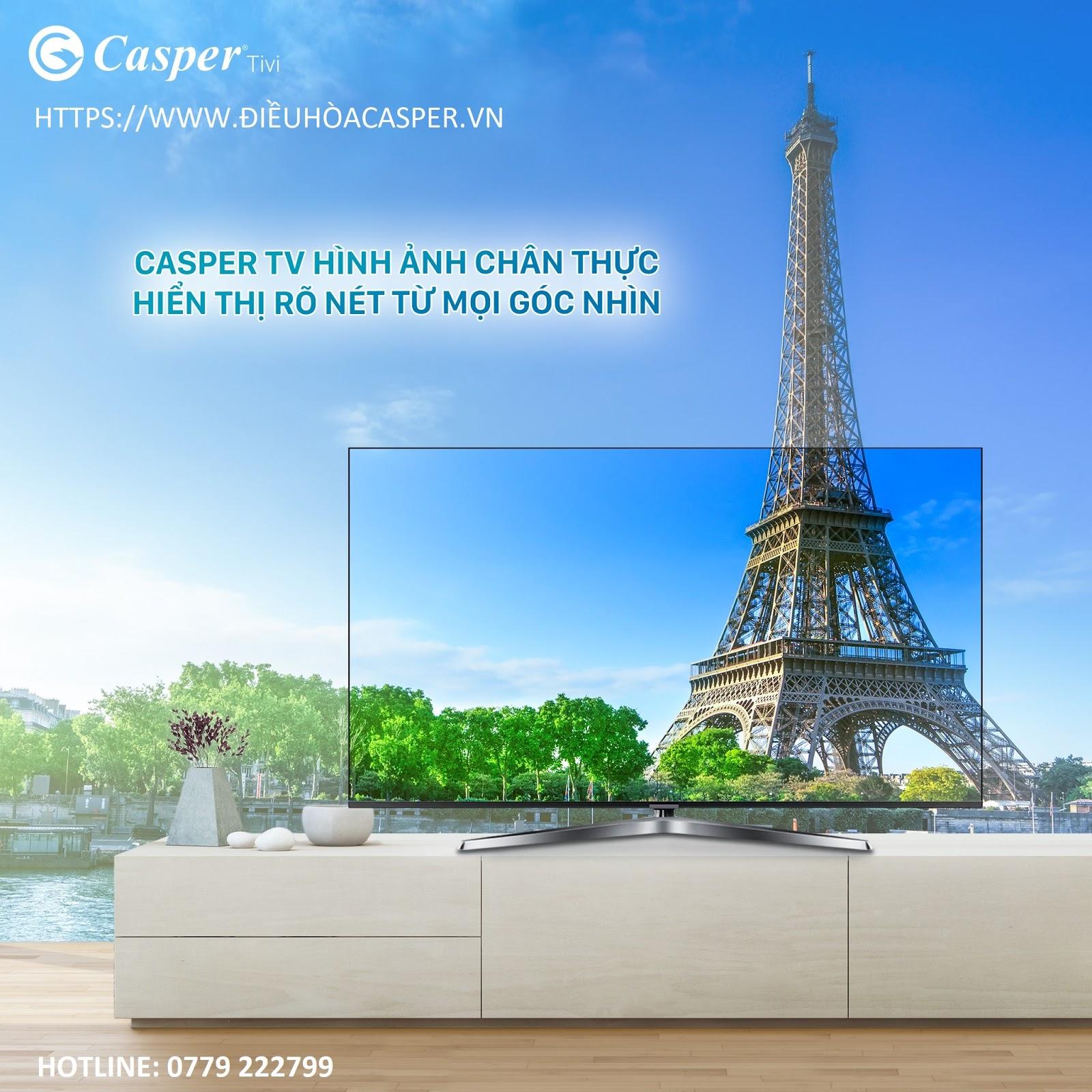 Tấm nền công nghệ IPS trên Smart tivi Casper