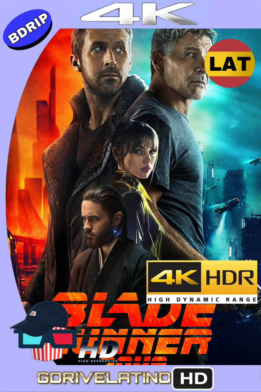 Blade Runner 2049 (2017) BDRip 4K HDR (Latino-Inglés) MKV