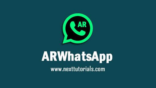 ARWhatsApp v9.64 Apk Mod Latest Version Android,Install Aplikasi AR WhatsApp Unclone Terbaik 2021,arwa anti banned terbaru 2021,wa mod anti blokir
