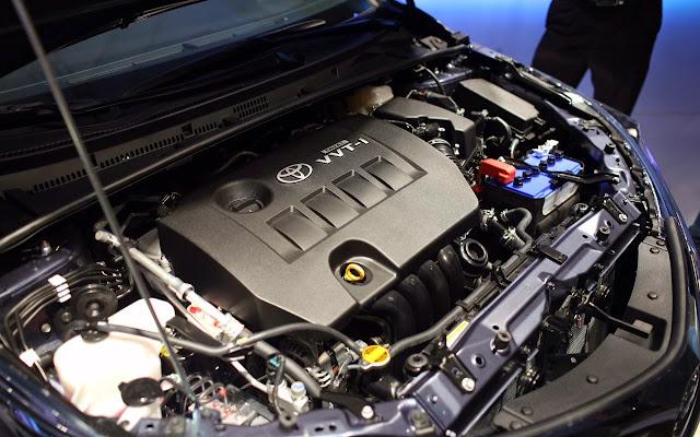 Corolla Altis vẫn đang sử dụng loại động cơ thường