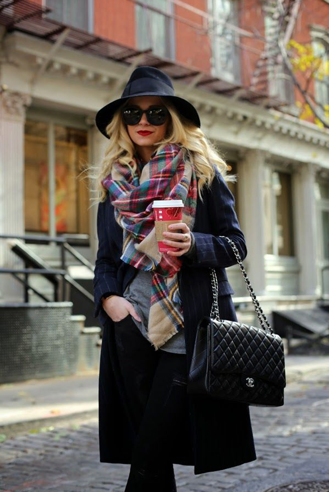 Fashion Attacks tartan scarf inspiration