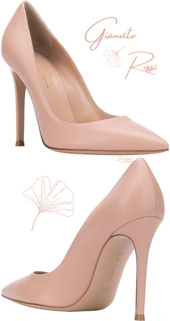 Gianvito Rossi pointed toe heeled pumps #brilliantluxury