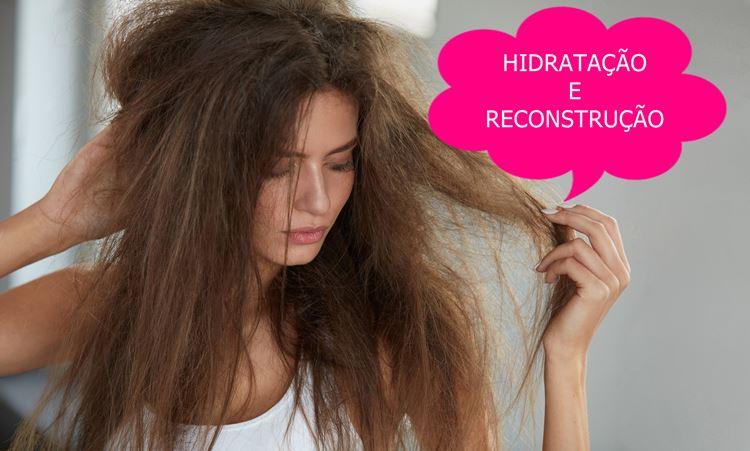 Hidratação e reconstrução. Como fazer?