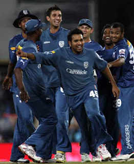 Rohit Sharma Hat-trick - DC vs MI 32nd Match IPL 2009 Highlights