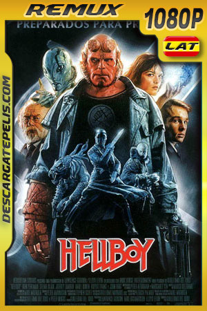 Hellboy (2004) REMASTERED 1080p BDRemux Latino – Ingles