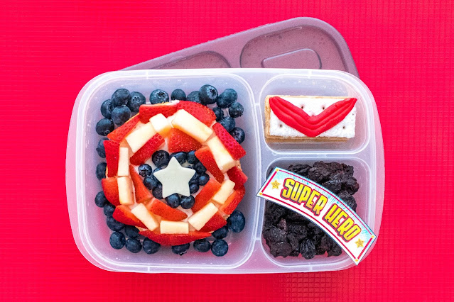 How to Make a Marvel Falcon and The Winter Soldier Food Art Lunch!