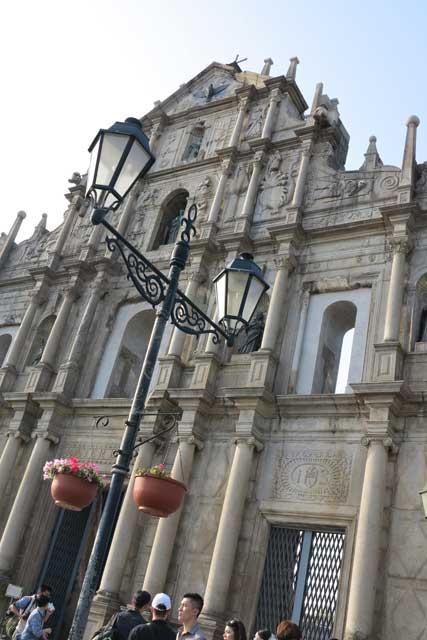 Ruinas de Sao Paulo Macau