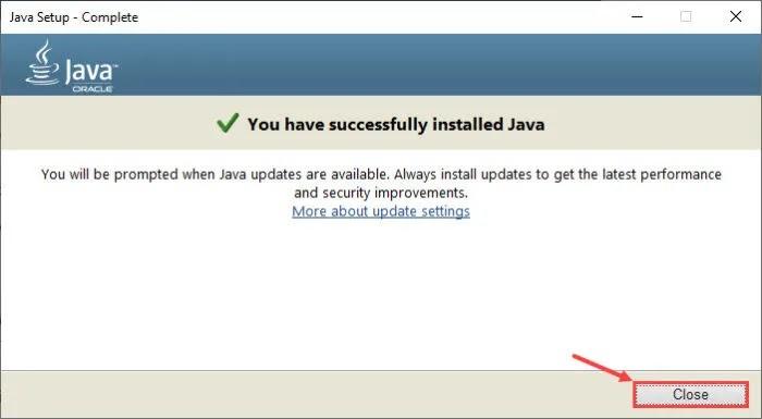 طريقة تحميل وتتبيت Java 8 Update 291