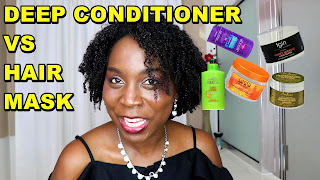 What is the Difference between Deep Conditioner and Hair Mask, Masque, Hair Treatment | Natural Hair