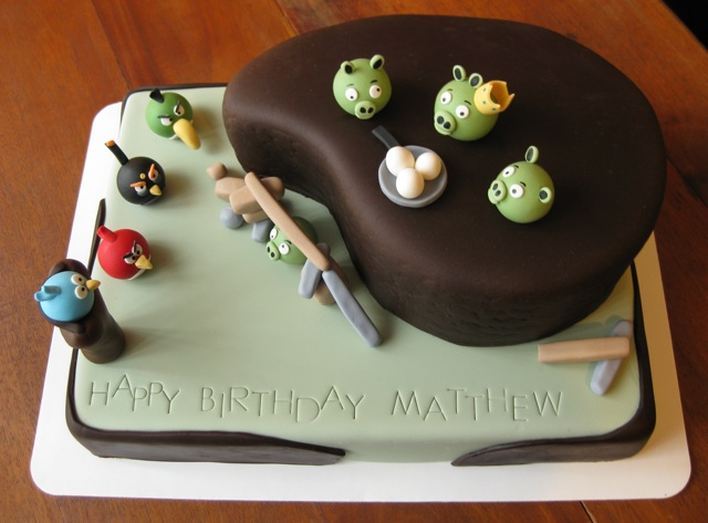 Happy Birthday Angry Birds Style Decorate This