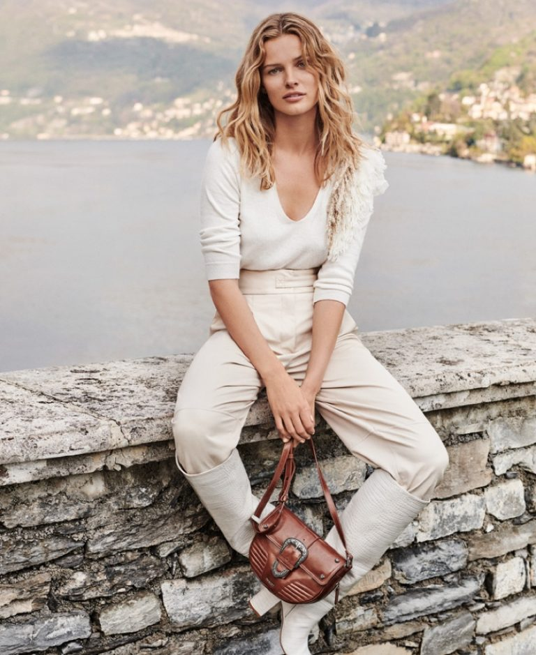 Twinset Fall/Winter 2019 Campaign featuring Edita Vilkeviciute